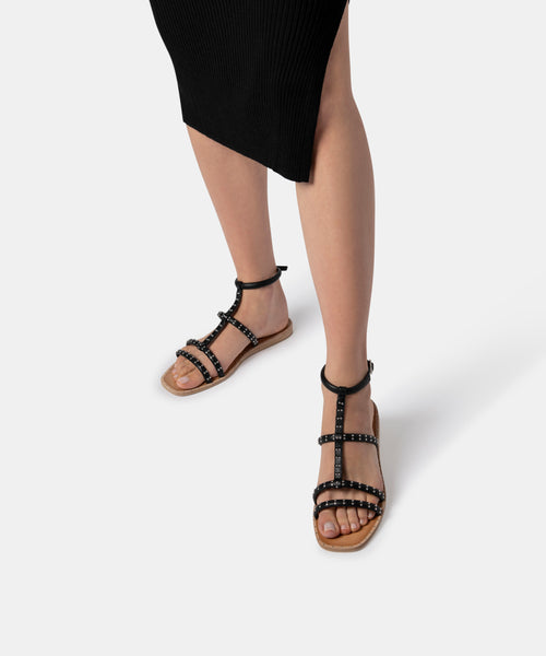 KOLE SANDALS IN BLACK -   Dolce Vita