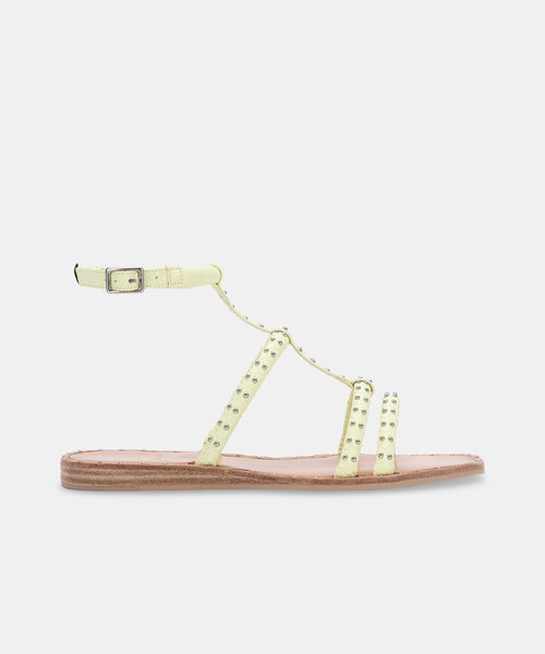 KOLE SANDALS IN LIMON -   Dolce Vita