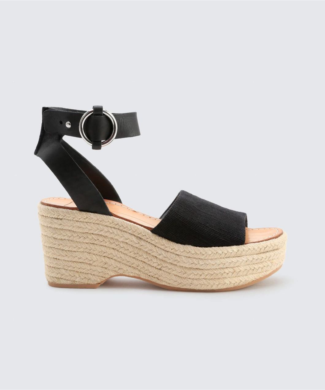 LESLY WEDGES BLACK -   Dolce Vita