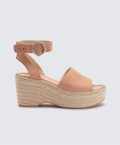 LESLY WEDGES IN ROSE -   Dolce Vita