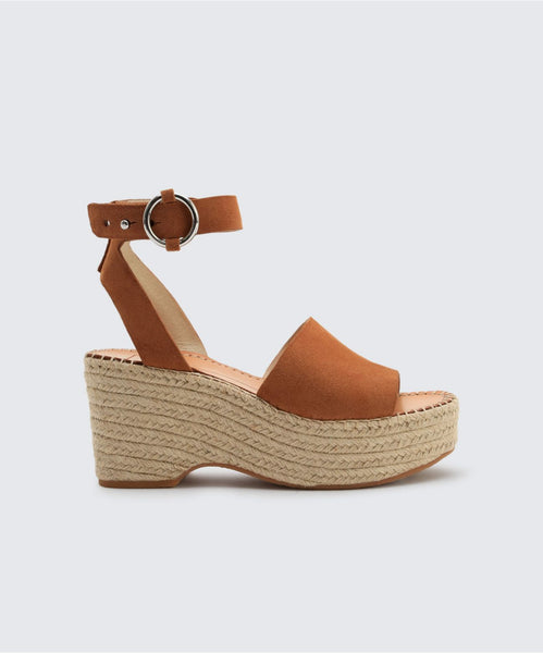 LESLY WEDGES IN SADDLE -   Dolce Vita