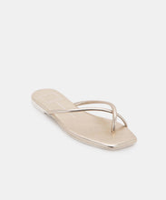 LYZA SANDALS IN LIGHT GOLD STELLA -   Dolce Vita