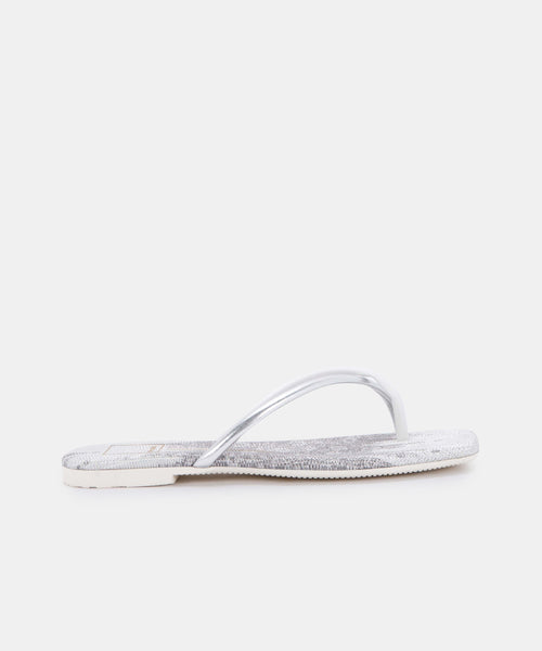 LYZA SANDALS IN SILVER MULTI STELLA -   Dolce Vita