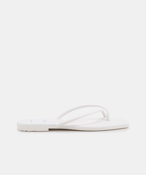 LYZA SANDALS IN WHITE STELLA -   Dolce Vita