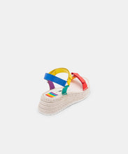 MYRA SANDALS IN RAINBOW LEATHER -   Dolce Vita