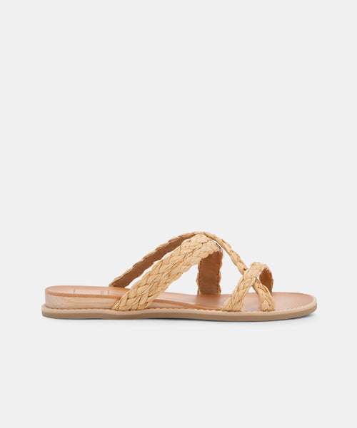 NEBI SANDALS IN NATURAL -   Dolce Vita