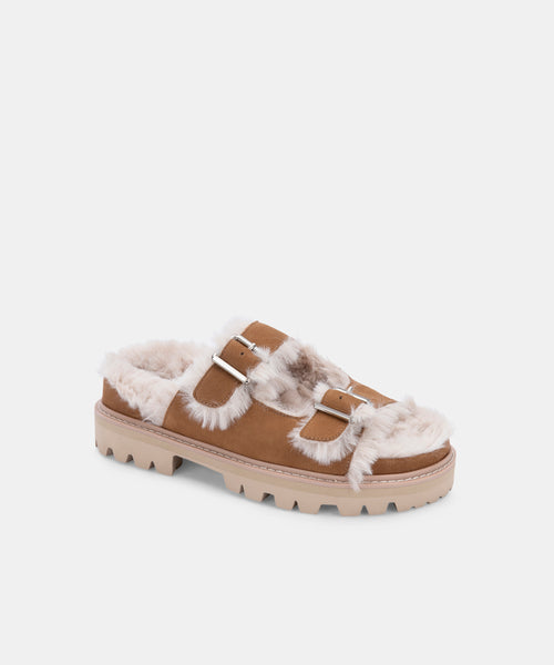 NEELO SANDALS WHISKEY NUBUCK -   Dolce Vita