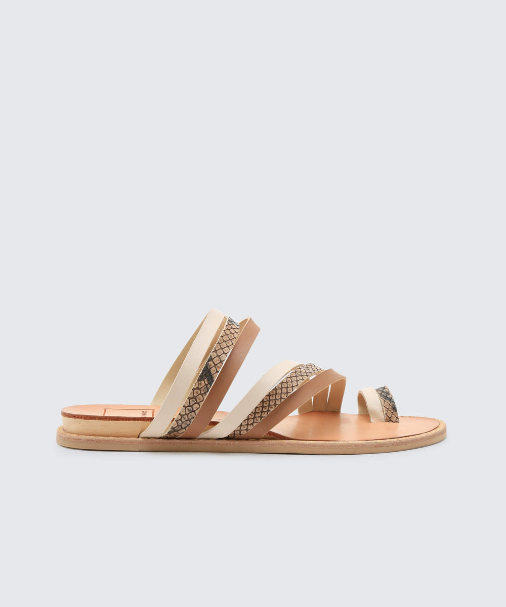 f43340ac54b6 NELLY SANDALS IN EXOTIC WHITE – Dolce Vita