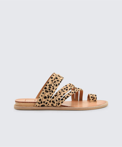 NELLY SANDALS IN LEOPARD -   Dolce Vita
