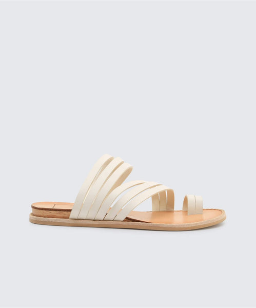 NELLY SANDALS IN OFF WHITE -   Dolce Vita