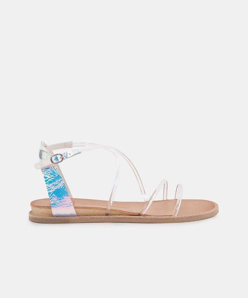 NENNA SANDALS IN CRYSTAL VINYL -   Dolce Vita