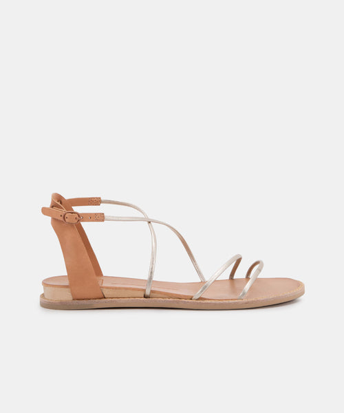 NENNA SANDALS IN LIGHT GOLD STELLA