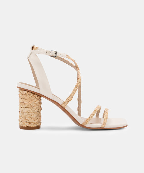 NICO HEELS IN NATURAL MULTI -   Dolce Vita