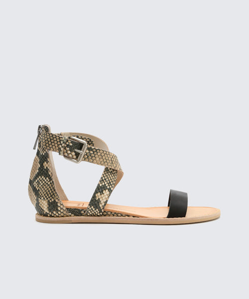 NOLEN SANDALS IN BLACK -   Dolce Vita