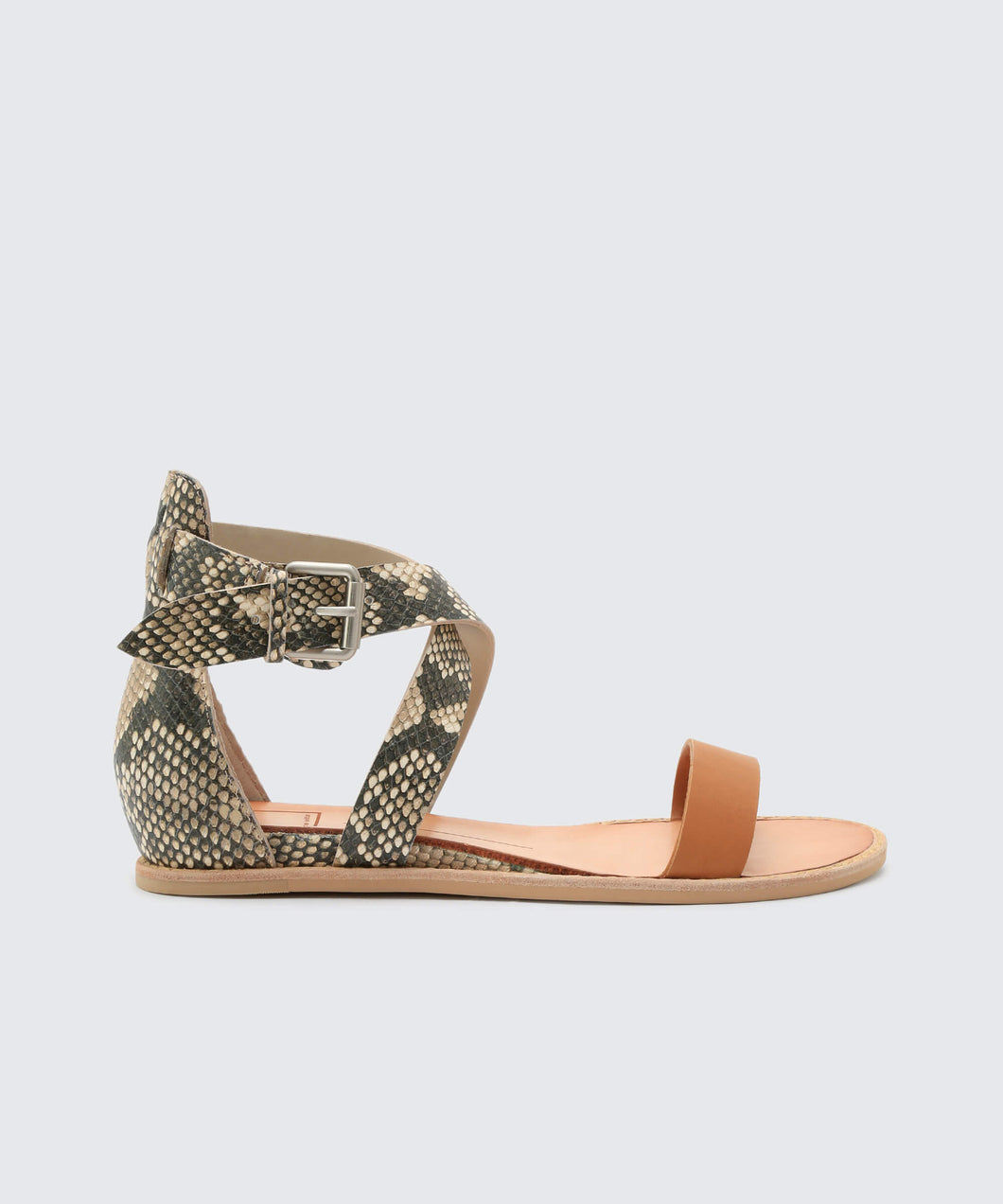NOLEN SANDALS IN CARAMEL -   Dolce Vita