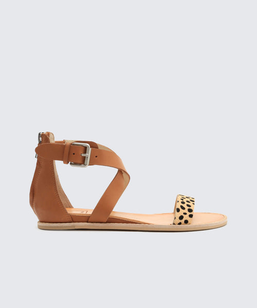 NOLEN SANDALS IN LEOPARD -   Dolce Vita