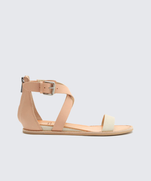NOLEN SANDALS WHITE -   Dolce Vita