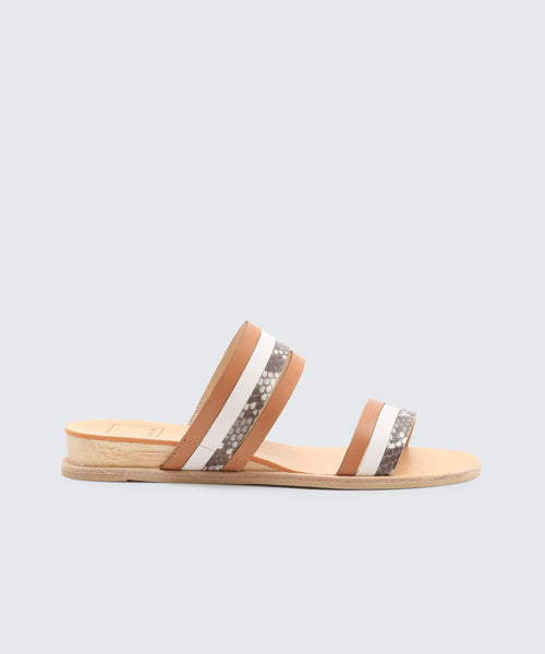 PAIS SANDALS IN EXOTIC WHITE -   Dolce Vita