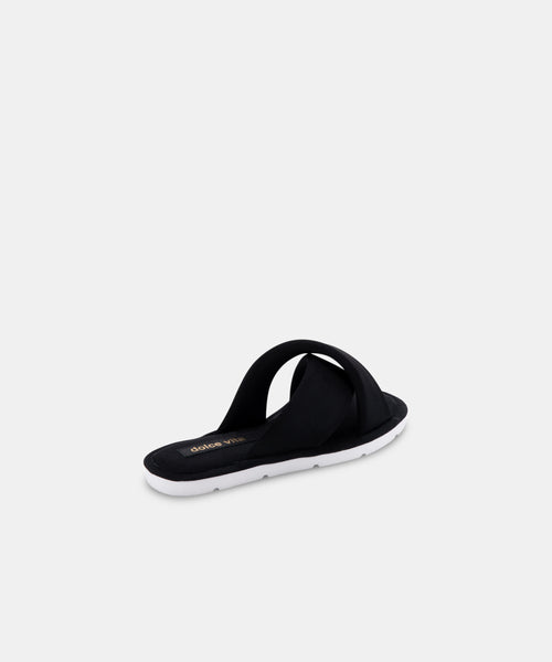 PARKE SANDALS IN BLACK NEOPRENE -   Dolce Vita