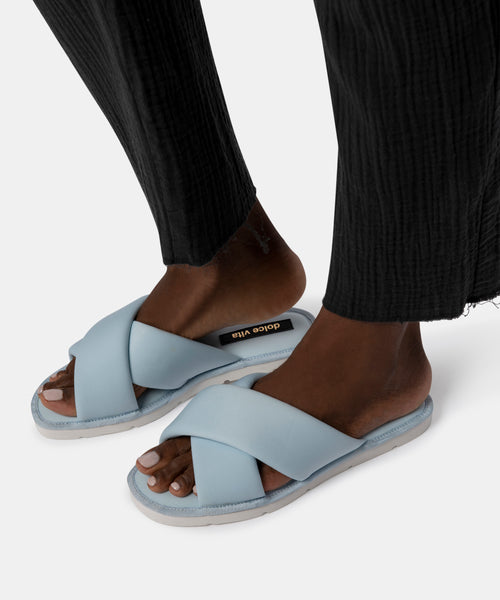 PARKE SANDALS IN SKY BLUE NEOPRENE -   Dolce Vita