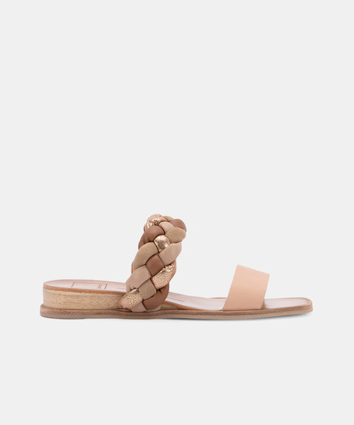 PERSEY SANDALS IN NATURAL MULTI -   Dolce Vita