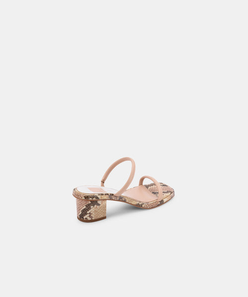 RIYA SANDALS IN BLUSH STELLA -   Dolce Vita