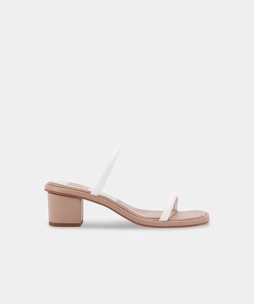 RIYA SANDALS IN WHITE STELLA -   Dolce Vita