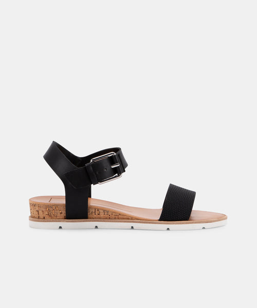 VADA SANDALS IN BLACK -   Dolce Vita