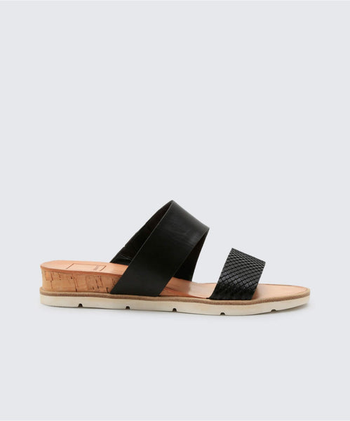 VALA SANDALS IN BLACK -   Dolce Vita