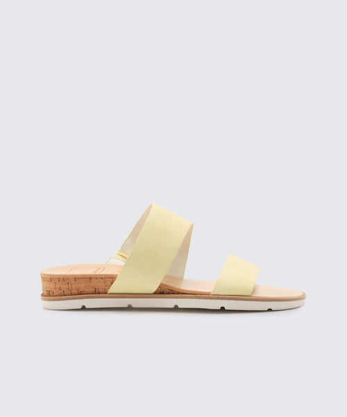 VALA SANDALS LEMON -   Dolce Vita
