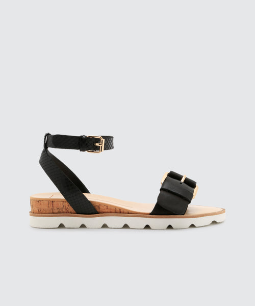 VIRGO SANDALS IN BLACK -   Dolce Vita