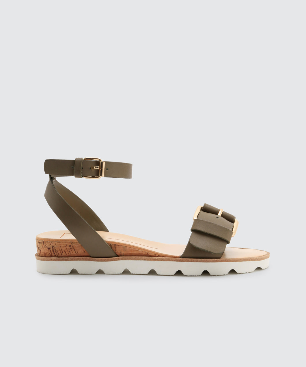 VIRGO SANDALS IN KHAKI -   Dolce Vita