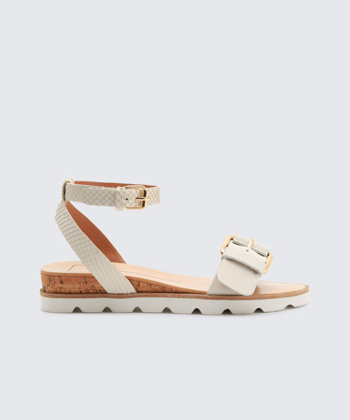 VIRGO SANDALS IN WHITE -   Dolce Vita