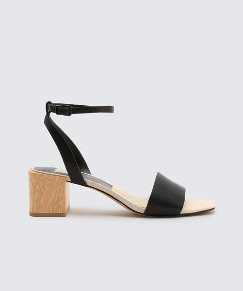 ZARITA SANDALS IN BLACK -   Dolce Vita