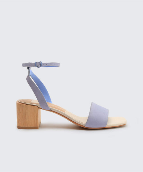 ZARITA SANDALS IN ICE BLUE -   Dolce Vita