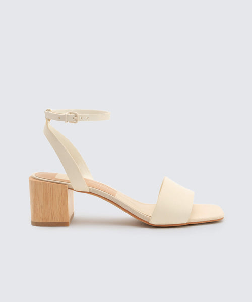 ZARITA SANDALS IN OFF WHITE -   Dolce Vita
