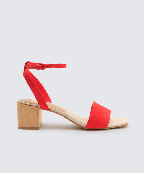 ZARITA SANDALS RED -   Dolce Vita