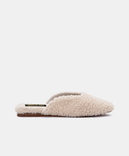 SAYDEE SLIPPERS IN NATURAL PLUSH -   Dolce Vita