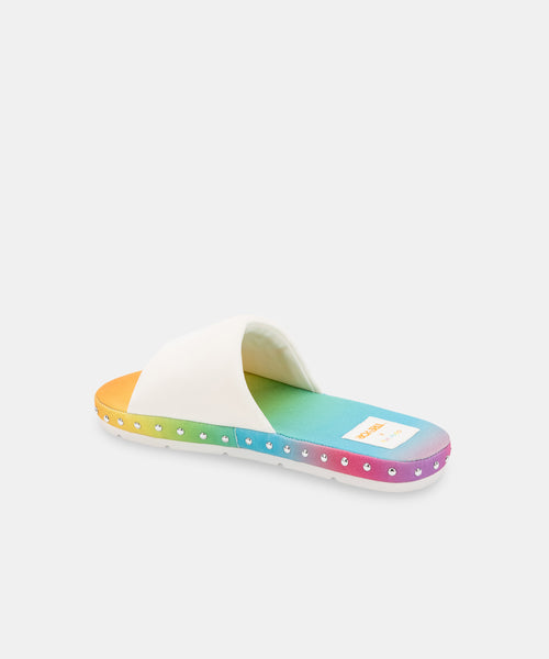 MOCHI PRIDE SANDALS OFF WHITE NEOPRENE -   Dolce Vita