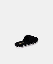 MOCHI SLIPPERS IN BLACK PLUSH -   Dolce Vita