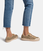 BRYTON SNEAKERS IN LEOPARD CANVAS -   Dolce Vita