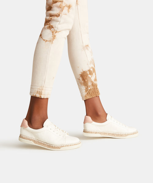 MADOX SNEAKERS IN WHITE -   Dolce Vita