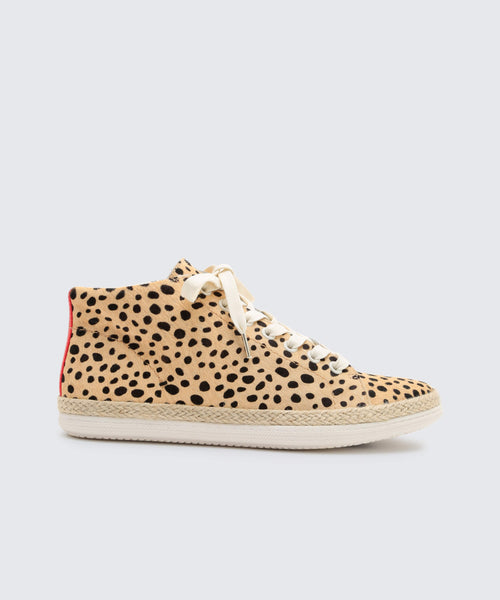 AKELLO SNEAKERS IN LEOPARD -   Dolce Vita