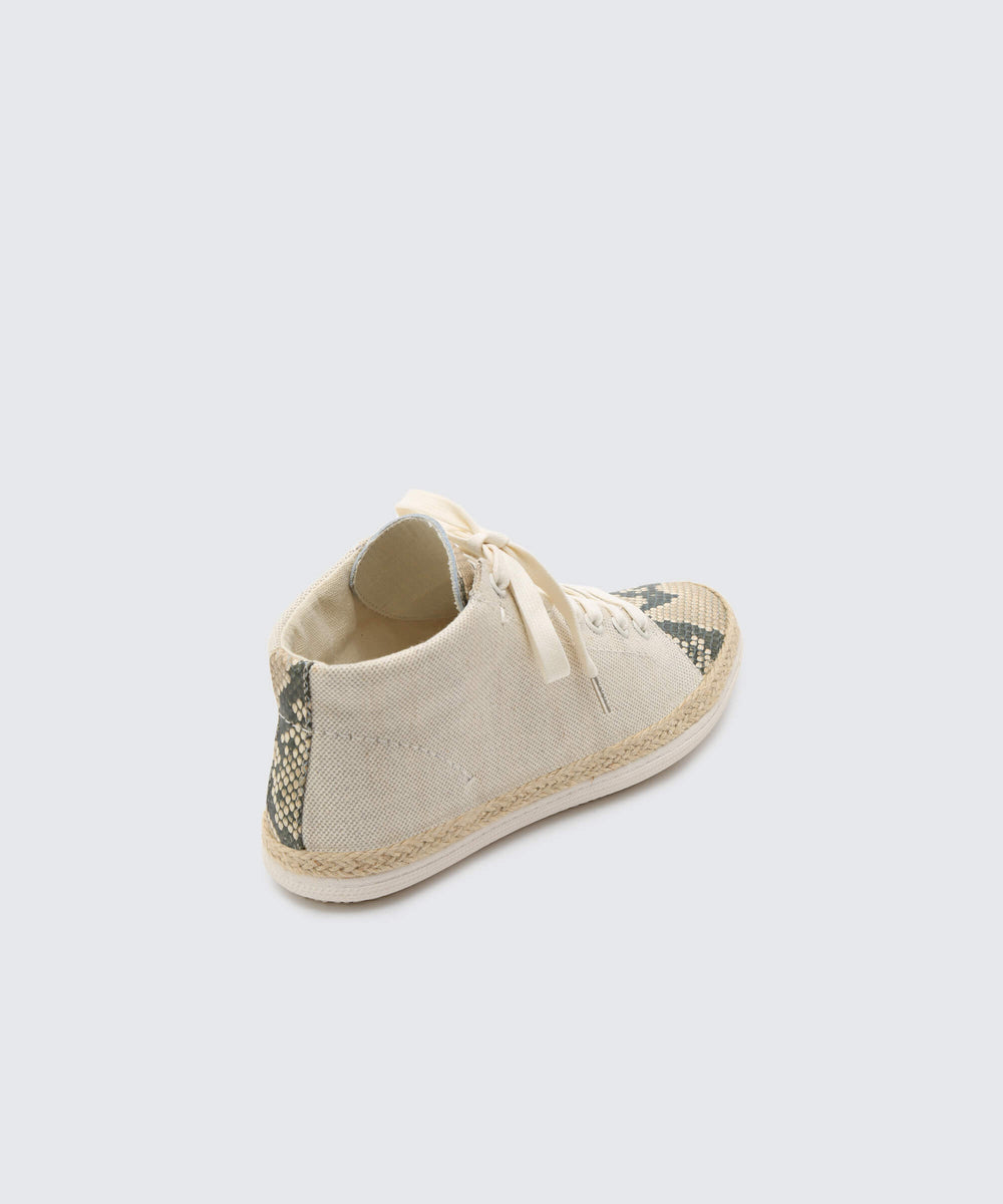 973fa7efb38d AKELLO SNEAKERS IN NATURAL