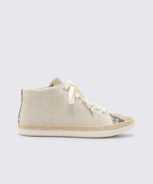 AKELLO SNEAKERS IN NATURAL -   Dolce Vita