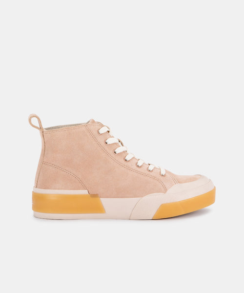 BLAYKE SNEAKERS IN NUDE ECO SUEDE -   Dolce Vita