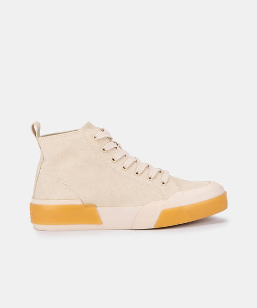 BLAYKE SNEAKERS IN SANDSTONE ECO CANVAS -   Dolce Vita