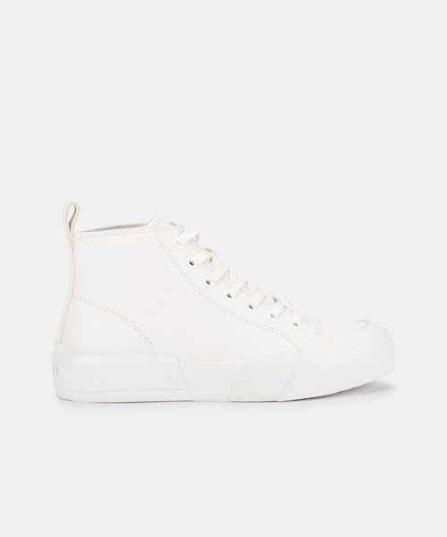 BLAYKE SNEAKERS WHITE ECO LEATHER -   Dolce Vita