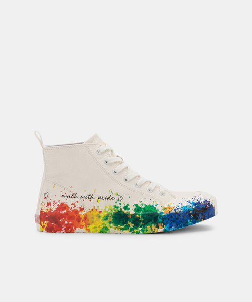 BRYCEN PRIDE SNEAKERS RAINBOW LEATHER -   Dolce Vita