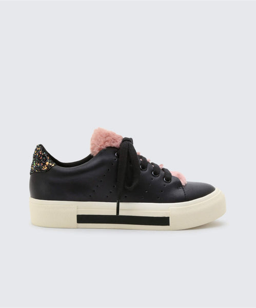 CABEL SNEAKERS IN BLACK -   Dolce Vita